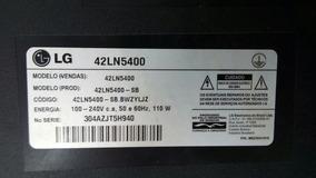 Kit Placa Botões E Sensor Da Tv Lg Mod 42ln5400.