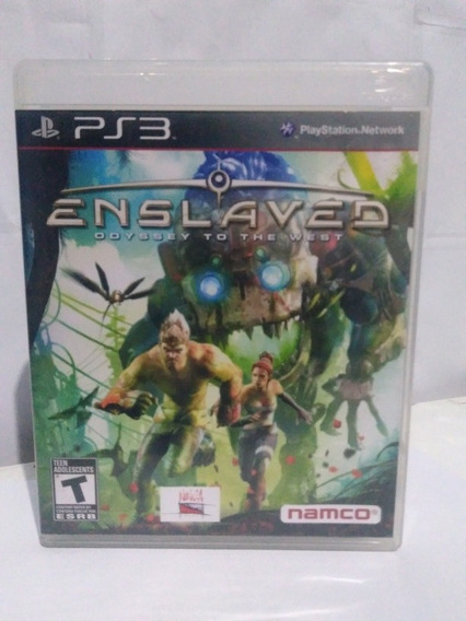 Jogo Enslaved Odyssey To The West Ps3 Física R$75