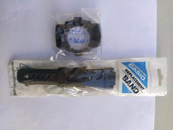 Bezel E Pulseira Para Relógio G-shock Vários Modelos G2900