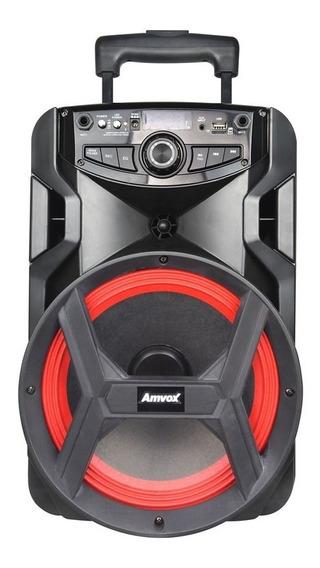 Caixa Amplificada Amvox Aca 185 New X 180w Bluetooth