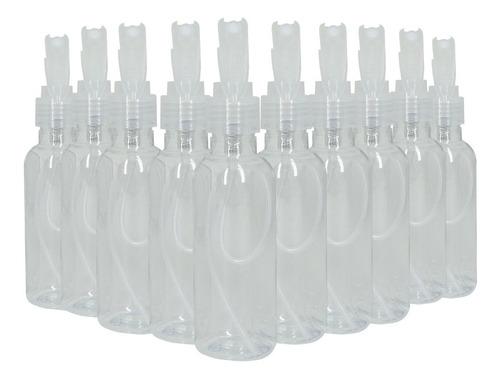 Imagem 1 de 5 de Frasco Pet De 120ml Com Mini Gatilho Spray- Kit Com 10pç