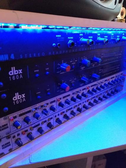 Compressor Dbx 160a (original) Usado Funcionando Tudo