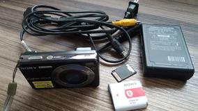 Câmera Sony 7,2mp Dsc-w110 + Kit Completo * Tudo Original *