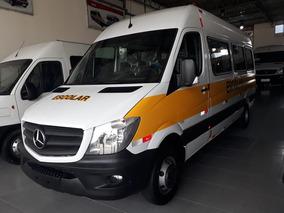 Mercedes-benz Sprinter 515 Teto Alto 0km 18/2019 28 Lugares