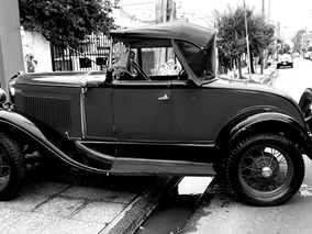 Ford A Coupe Roadster Voiture 1930 Posible Permuta