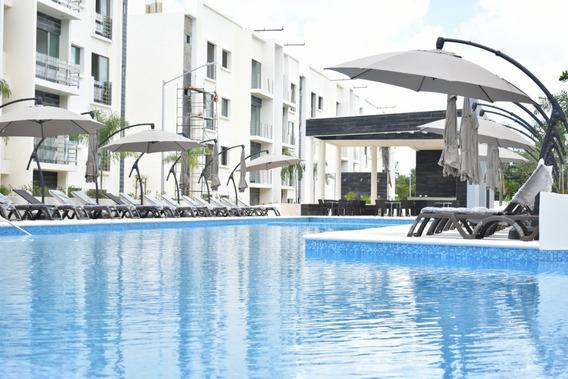 Cancun Departamentos En Renta, 3 Rec. Privada, Alberca