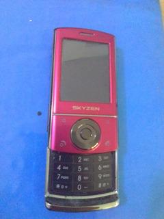 Telefono Basico Skyzen Deslizable S3 Telcel