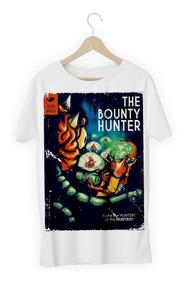 Camisa Camiseta Caçador De Recompensas Samus Hunter