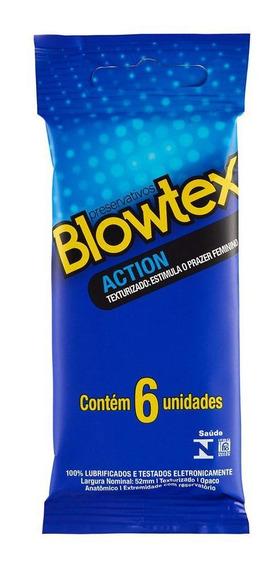 Preservativo Blowtex Action C/ 6 Unidades