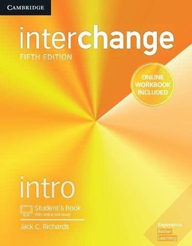 Interchange Intro B (student Book + Workbook) - 5th Edition