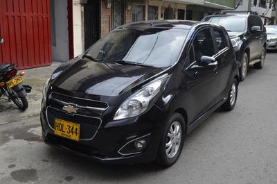 Chevrolet Spark Gt Ltz Motor 1.2 2016 Negro 5 Puertas
