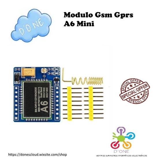 Modulo Gsm Gprs A6 Mini - Similar Al Sim 900 Arduino