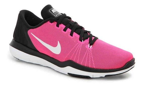 Zapatillas Nike Mujer Fucsias Flex Supreme Tr5 Training Usa
