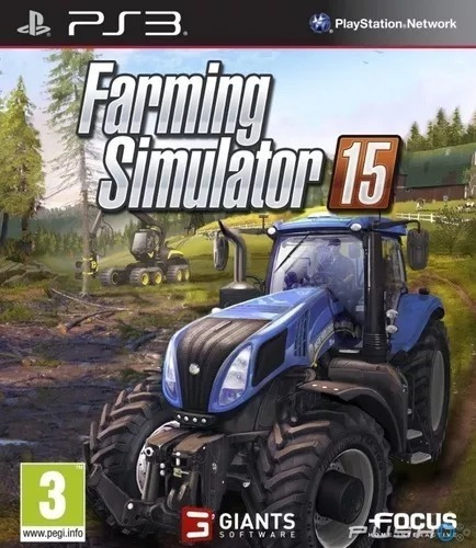 Farming Simulador 2015 Trator Ps3 Português Barato Promoção