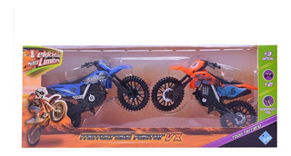 Motocross A Todo Terreno X 2 Velocidad Sin Limite 18cm