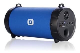 Panacom Parlante Bluetooth Usb Sd Azul Bz-4000 Cuotas