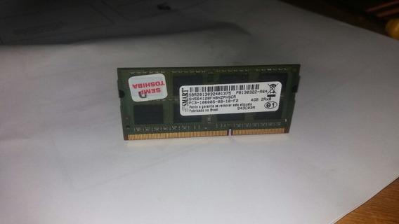 Memória Ram Ddr3 4gb Notebook