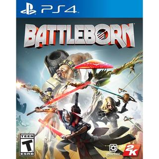 Battleborn Ps4 Juego Nuevo Original Físico Sellado Blu-ray