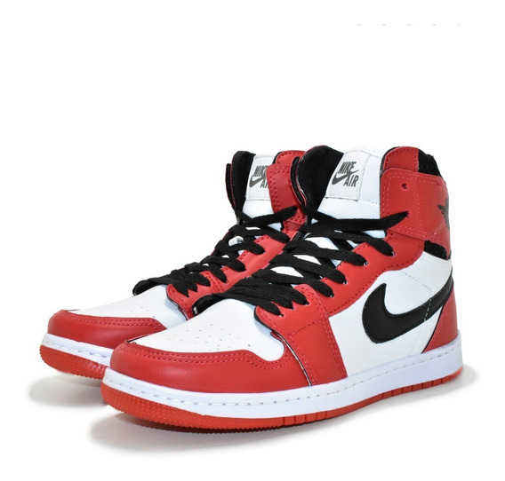 Tênis Air Jordan Retro High Chicago Bota Feminina Basquete