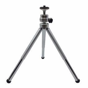 Mini Tripé Universal Alumínio P/ Todas As Câmeras