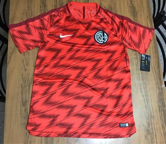 Camiseta Pre Match Nike San Lorenzo 2019 - Original