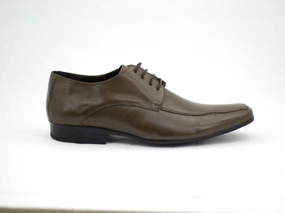 Sapato Anti Stress Francajel Confortavel Com Amarril Marrom