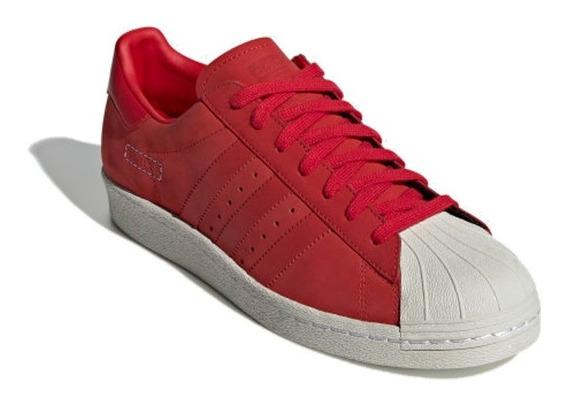 Tenis adidas Rojos Superstar 80