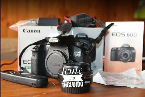 Vendo Canon 60d Solo Body Con Timelapse Control De Regalo