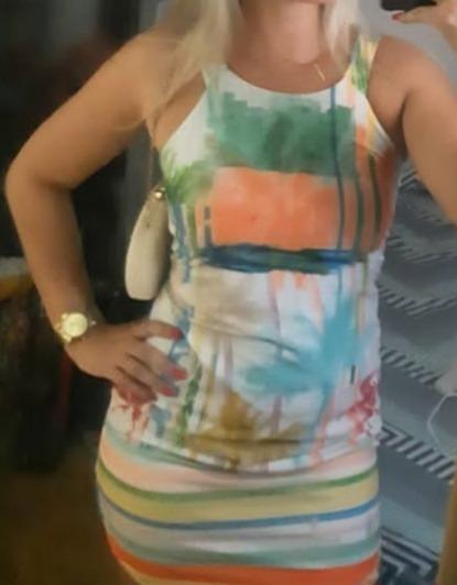 Vestido P Estampa Verão