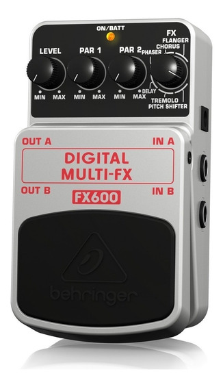 Pedal Behringer Digital Multifx Fx600 Efeitos Promoção