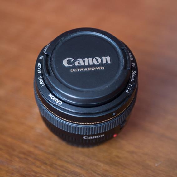 Lente Canon 50mm F/1.4 Lens Ef Usm
