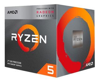 Micro Procesador Amd Ryzen 5 3400g 4.2ghz Am4 Rx Vega 2