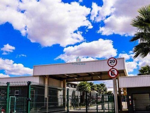 Galpão Comercial Para Locação, Condomínio Fechado, Parque Santo Amaro, Campos Dos Goytacazes/rj. - Ga0702