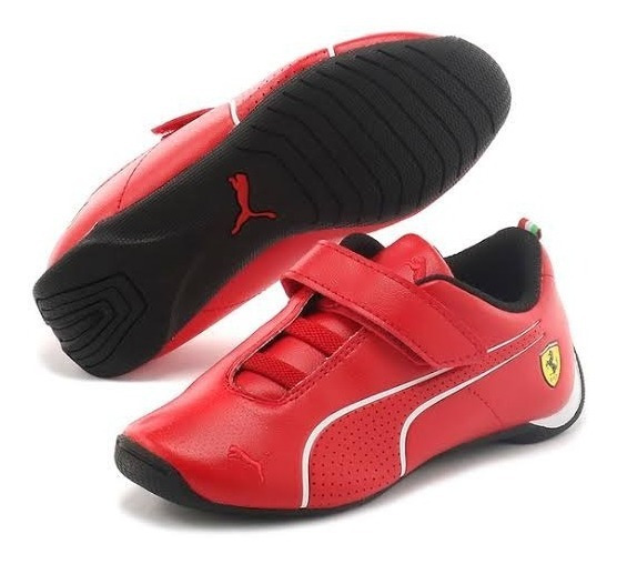 Tenis Puma Ferrari Future Cat Ultra Niño Originales