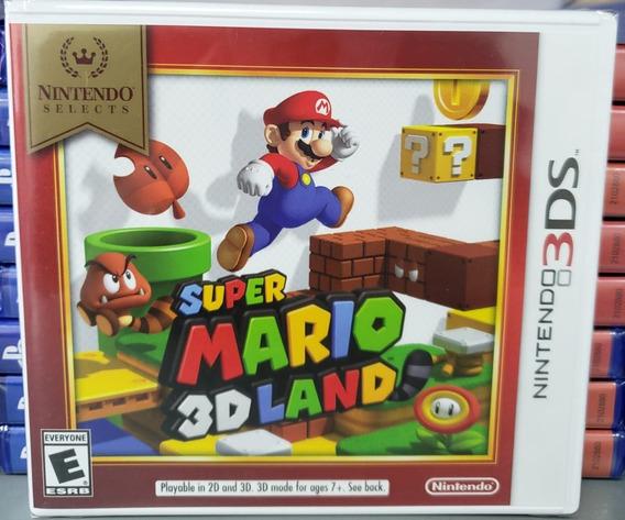 Super Mario 3d Land 3ds Mídia Física Nintendo Lacrado