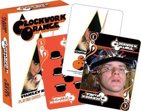 A Clockwork Orange Playing Cards - Baralho Laranja Mecanica