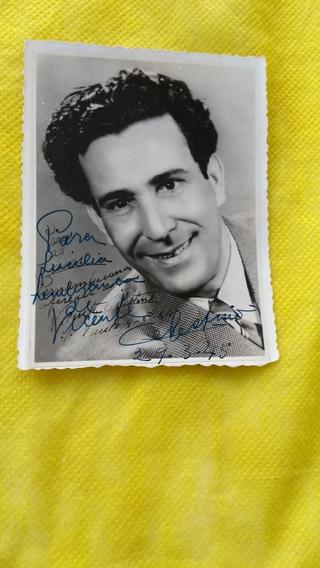 Vicente Celestino Foto Original Autografada Raridade