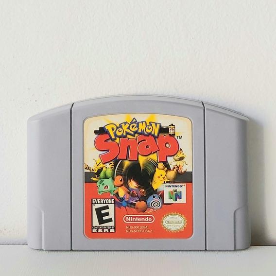 Jogo Pokémon Snap - Cartucho Nintendo 64