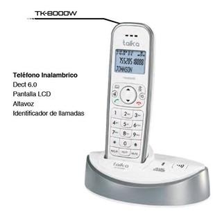Telefono Inalambrico Casa Blanco Taika Tk-8000b