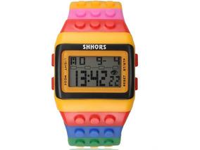Relógio De Pulso Digital Infantil Para Crianças Lego Resiste