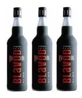 Vodka Blavod 750ml (3 Garrafas Promoção) Com Selo Ipi