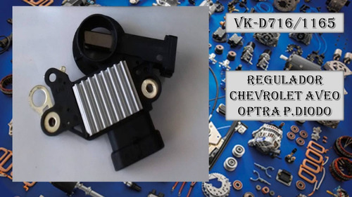 Regulador Chevrolet Aveo Optra C.diodo 4 Pin D2262 Valley Fo