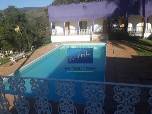 Chácara Com 16 Dormitórios À Venda, 8529 M² Por R$ 1.500.000,00 - Estância Santa Maria Do Portão - Atibaia/sp - Ch0009