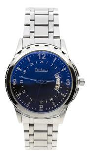 Reloj Dufour Rennes Original Hombre Malla Metal Colores Descuentos Por Cantidad
