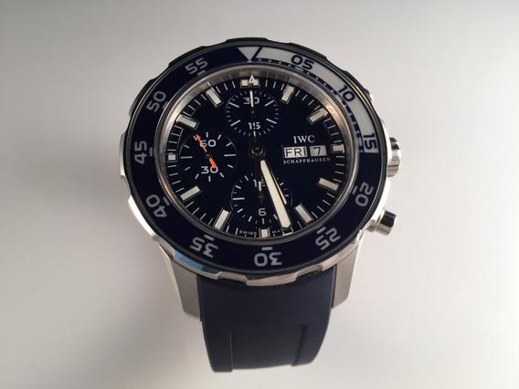 Reloj Iwc Aquatimer Chrono Automático 44mm ,de Acero