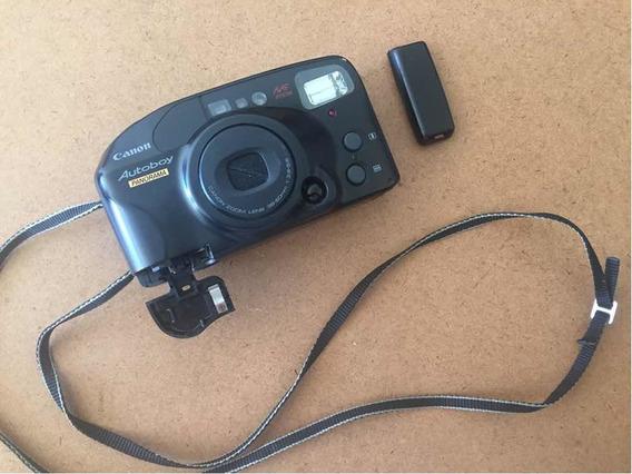 Camera Antiga Canon Autoboy Leia Abaixo
