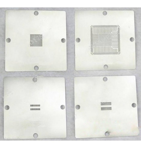 Kit 4 Peças Bga Reballing Stencils Ps4 90*90mm Cxd90026g