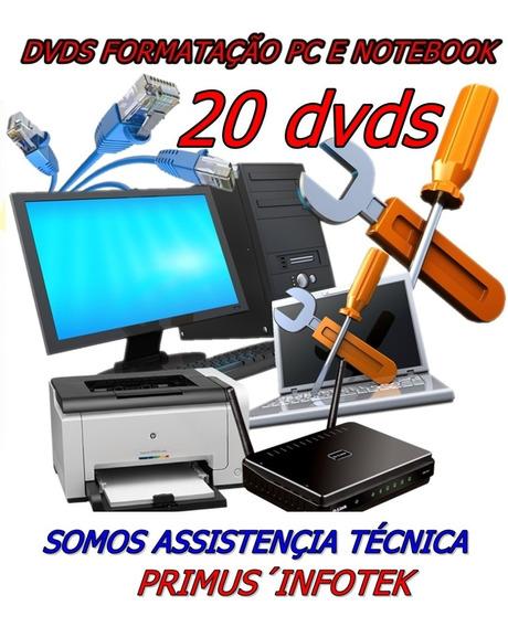 Dvds Para Formatação Informatica Bootavel Pc E Not 10,8.1,7