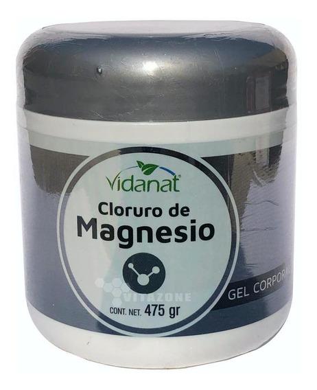 Gel Cloruro De Magnesio 475 G Vidanat