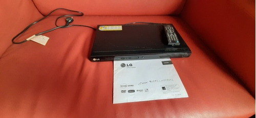 Reproductor Dvd LG Con Control Y Manual